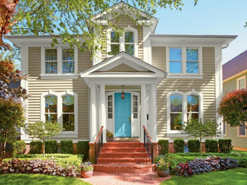 Các màu sơn nhà đẹp