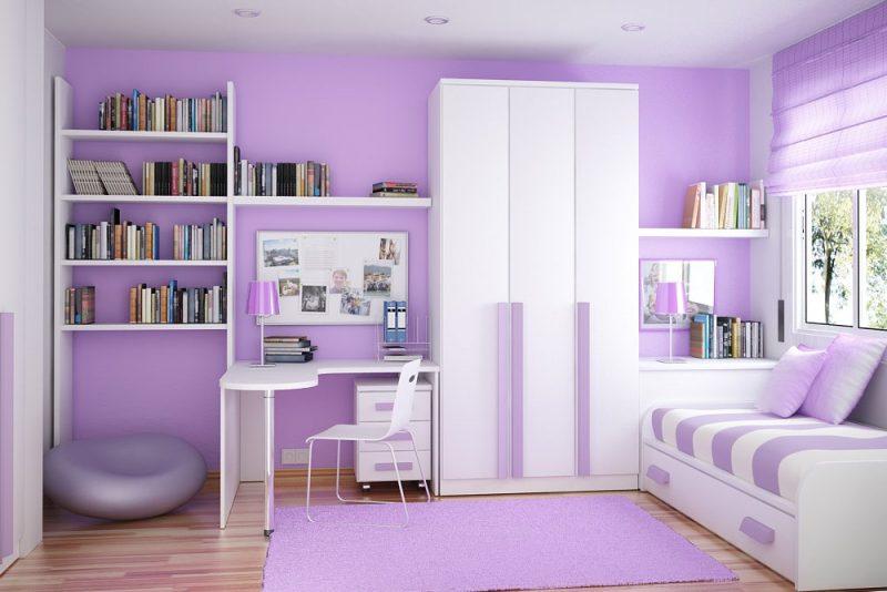 Sơn màu tím là xu hướng khi lựa chọn màu sơn nội ngoại thất năm 2019