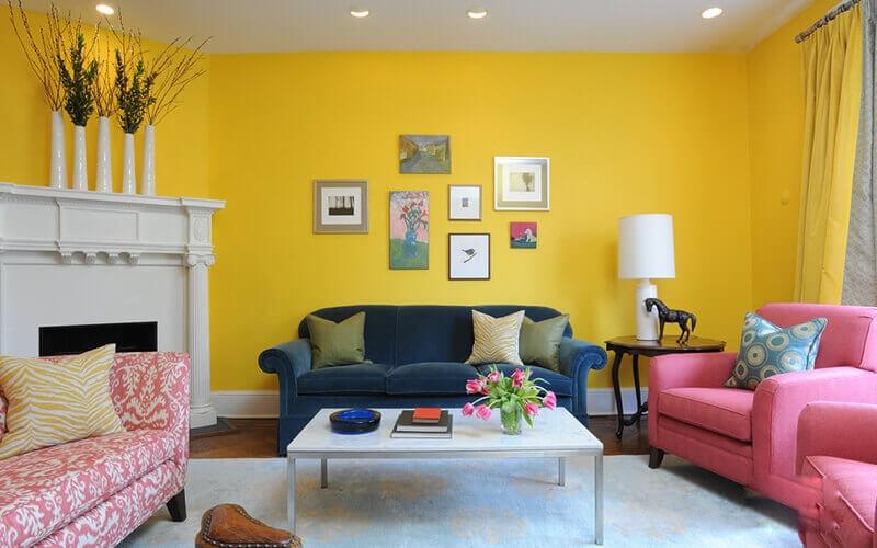 Màu sơn nội thất trong nhà đẹp nhất