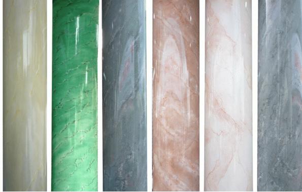 Có nhiều màu sắc để lựa chọn khi sơn giả đá