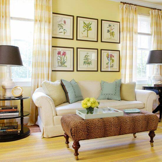 14 mẫu sơn nội ngoại thất nhà màu vàng kem đẹp nhất 2021 · DAVOSA