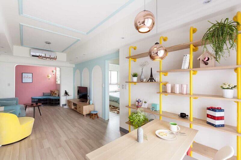 Sơn trong nhà màu pastel